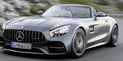 Ibiza Mercedes GT AMG Rent